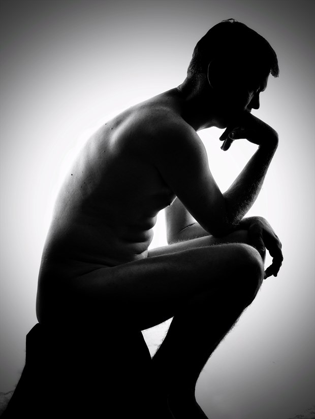 The Thinker Artistic Nude Photo by Photographer rdp