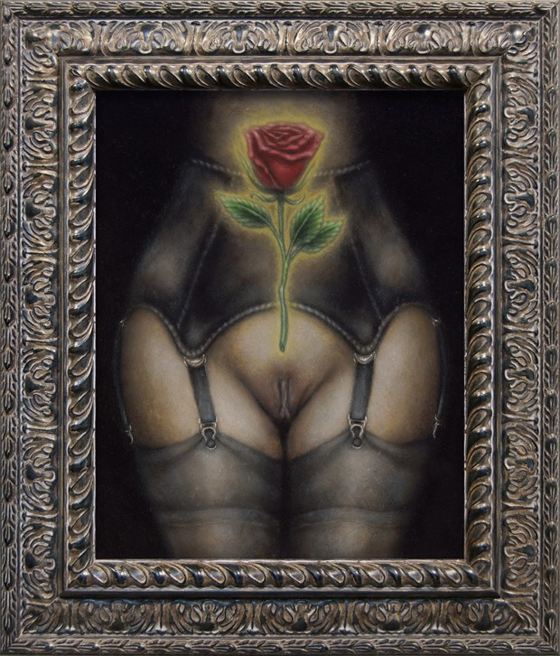 The Tryst Erotic Artwork by Artist Divine Mania