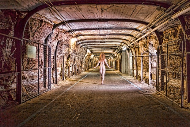 The Tunnel Artistic Nude Photo by Photographer Stephen Wong