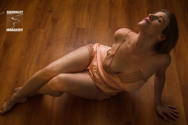 The Warmth Within Lingerie Photo by Model Tricia DeAnne