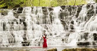 The Waterfall Nature Photo by Photographer Skye Phoenix