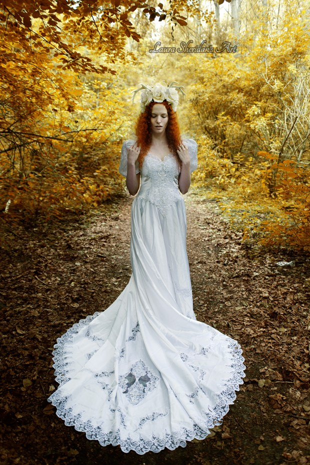 The White Deer Fantasy Photo by Photographer Laura Sheridan's Art