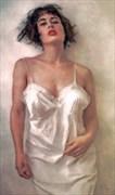 The White Girl Lingerie Artwork by Artist Van Evan Fuller