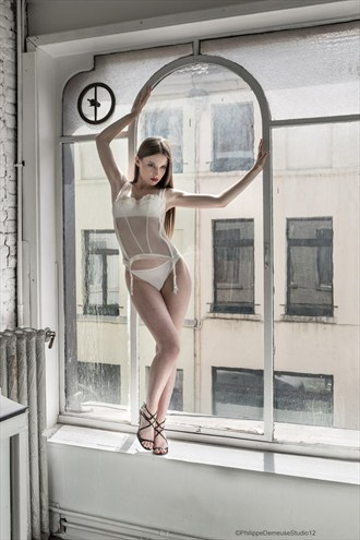 The Window Lingerie Artwork by Photographer PhilippeDemeuseStudio12