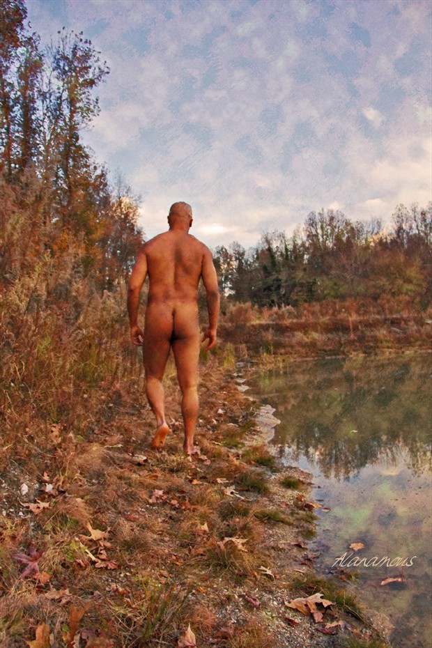 The World Changed Beneath His Feet Artistic Nude Photo by Photographer Alanamous