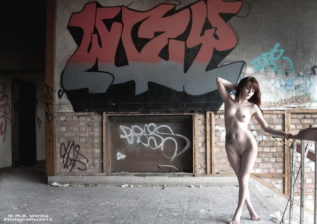 The abandoned and the urban Artistic Nude Photo by Model TheaRosee