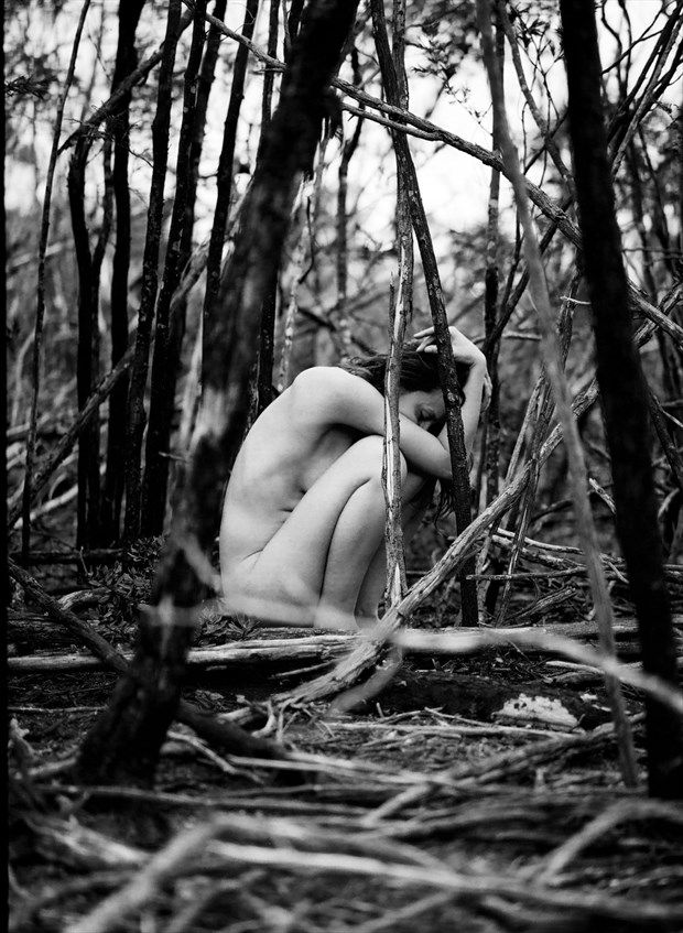 The burnt embers of my mind Artistic Nude Photo by Photographer Michael Jenkins