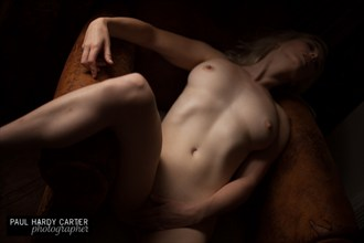 The chair Artistic Nude Photo by Model Em Theresa