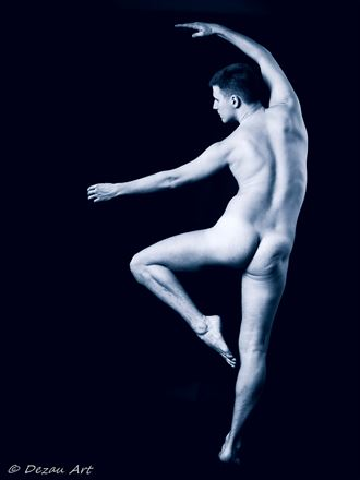 The dancer : through his moves Artistic Nude Photo by Photographer DEZAU