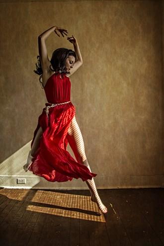 The dancer Studio Lighting Photo by Photographer James W