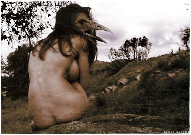 The eater on the ridge Artistic Nude Photo by Model Katz Pajamaz