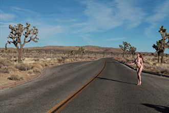 The first Hitch Hiker  Artistic Nude Photo by Model Eclipse Monday