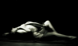 The ghost Artistic Nude Artwork by Photographer Daniel Tirrell photo