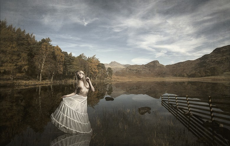 The lady of the lake Artistic Nude Photo by Photographer Anthony Higginson