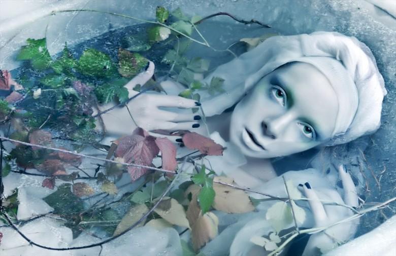 The little mermaid Surreal Photo by Model Ewel
