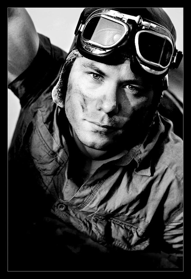 The pilot Retro Photo by Photographer Laila Pregizer