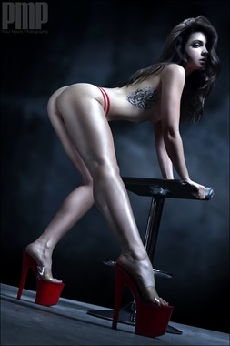The shoe Tattoos Photo by Model Pure Rebel