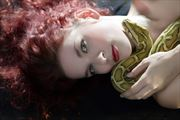 The snake lover Artistic Nude Photo by Photographer Studio21networks