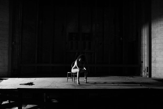 The stage is set Artistic Nude Photo by Photographer DaveMylesPhotography