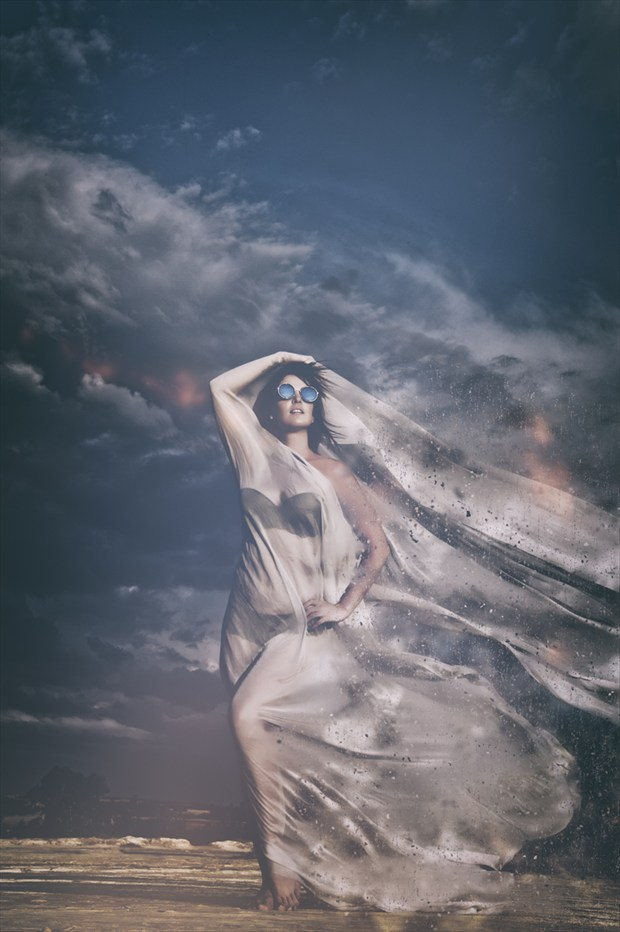 The storm is coming Lingerie Artwork by Photographer Omega Photography