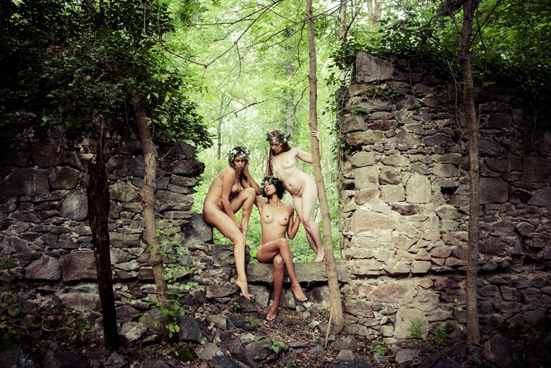 The three fates Artistic Nude Photo by Photographer DaveMylesPhotography