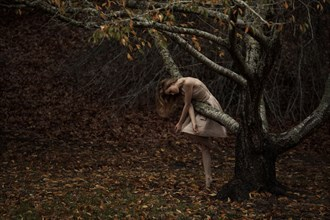 The trees have eyes  Nature Photo by Model Amy Heather