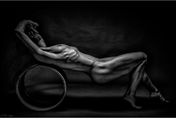The uncompleted Artistic Nude Artwork by Photographer CM Photo