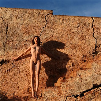 The wall Artistic Nude Photo by Photographer John Evans