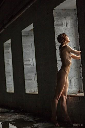 The window Artistic Nude Photo by Photographer Lightyear