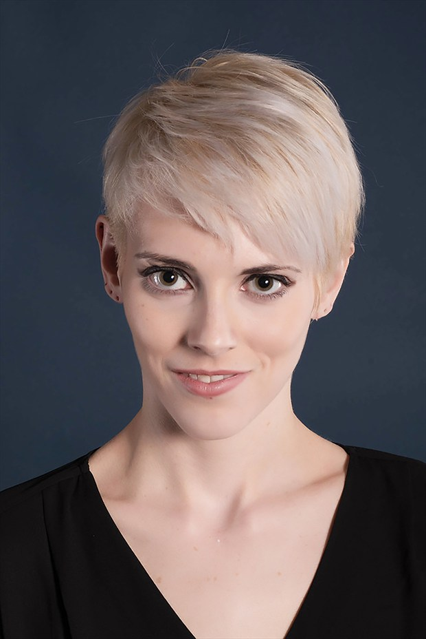 Theatrical Headshot Portrait Photo by Model Adrien Michaels