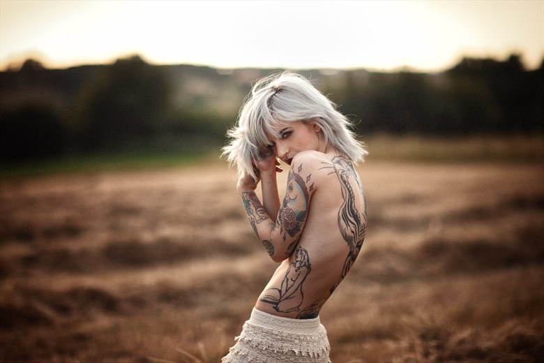 There's nobody taming me Tattoos Photo by Model Miele Rancido