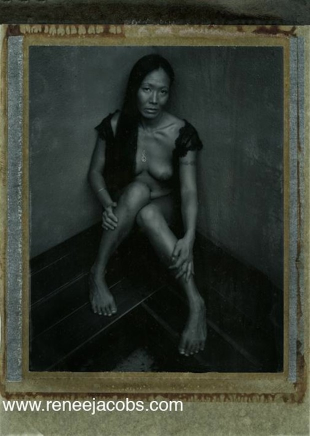 Things Fall Apart Artistic Nude Artwork by Model Ree Ja