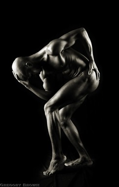 Think man Artistic Nude Photo by Photographer Gregory Brown