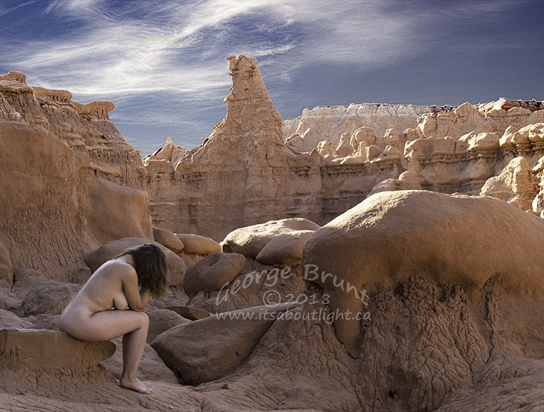 Thinker Artistic Nude Photo by Photographer mm2437