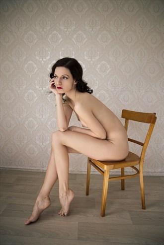 Thinking Nude Glamour Photo by Photographer J. F. Novotny