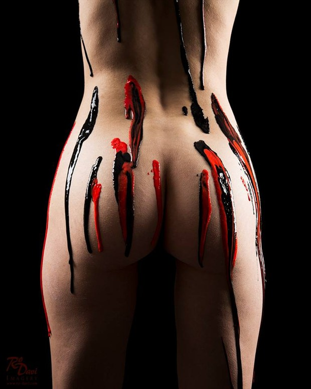 This Ain't Warpaint Artistic Nude Photo by Model Sabryna Syndrome