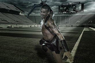 This is SPARTA! Tattoos Photo by Photographer Tony Mandarich