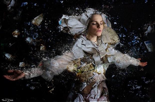 Thomas Dodd Surreal Artwork by Model Nathalia Rhodes