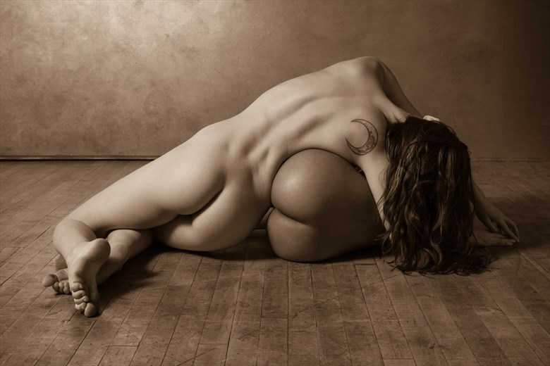 Three Moons Artistic Nude Photo by Photographer Risen Phoenix