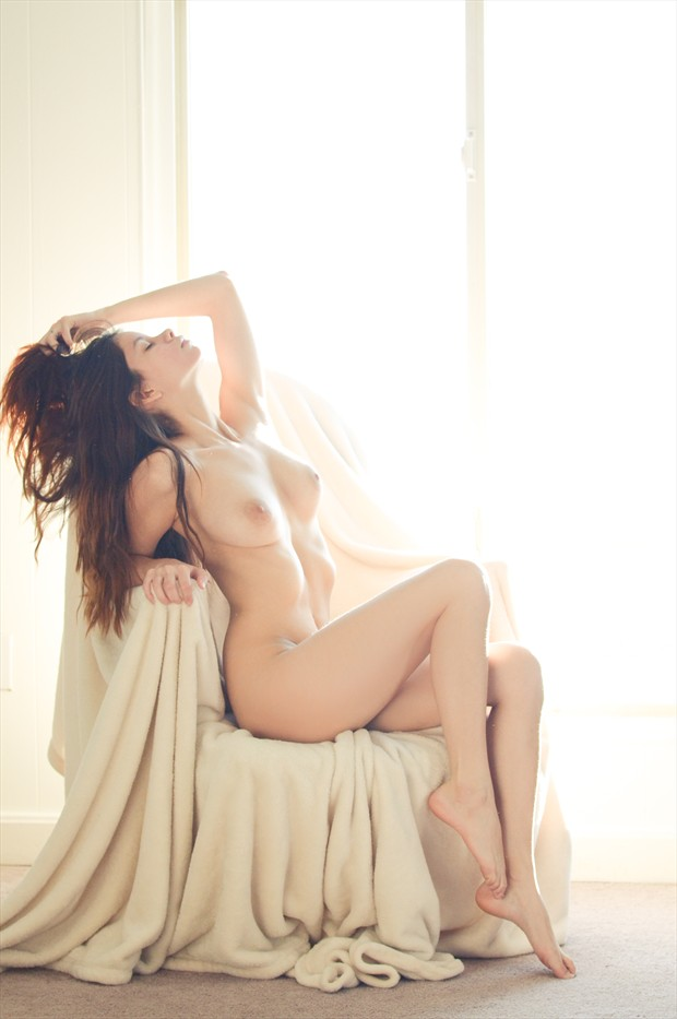 Throne Artistic Nude Photo by Model S nia