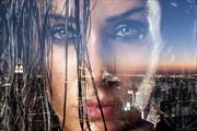 Through Her Eyes 1 Photo Manipulation Photo by Artist Paul Owen Creative