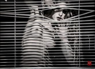 Through the blind Artistic Nude Photo by Model Eclipse Monday