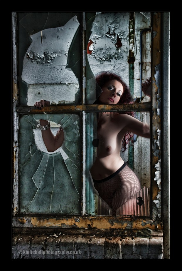 Through the window Erotic Photo by Photographer Keith Mitchell