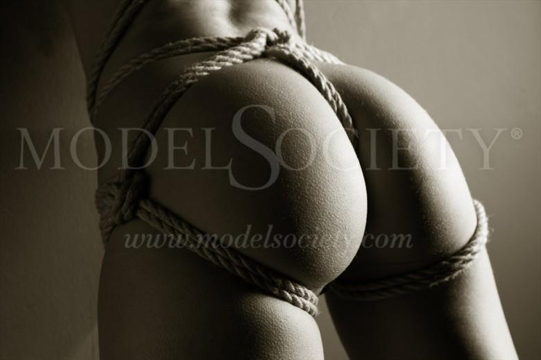 Tied Buns Erotic Photo by Photographer John Tisbury