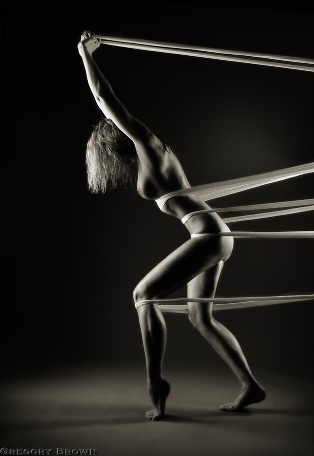 Tied up at the moment Artistic Nude Photo by Photographer Gregory Brown