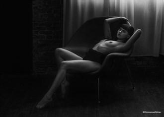 Tiffany Nacke model, black and white, brooklyn Artistic Nude Photo by Photographer EmmanuelVivier