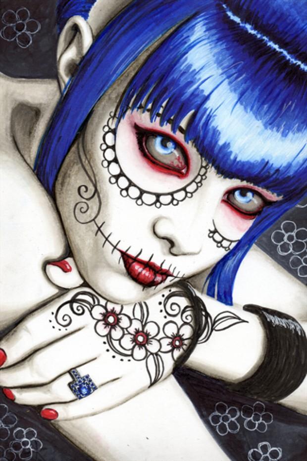 Tiger Lil Tattoos Artwork by Artist Shayne of the Dead