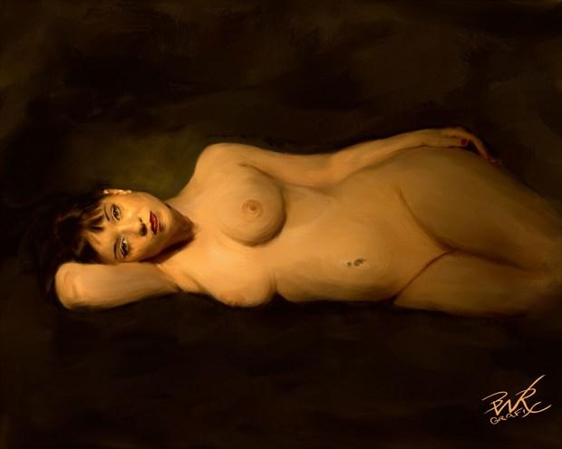 Tiger Lilly Photo Manipulation Artwork by Artist BWRgrafix