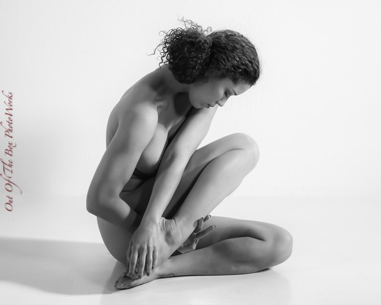 Time to Think Artistic Nude Photo by Photographer Miller Box Photo