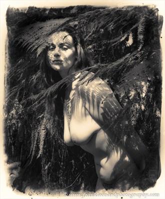 Tina Artistic Nude Photo by Photographer Frank Leonard